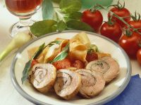 Geüllte Schweineschnitzel Rezept