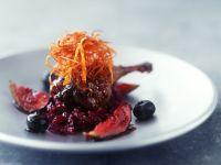 Glasierte Entenkeule mit Feigen und Rotkraut Rezept