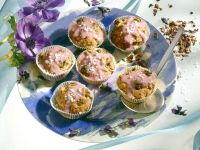 Glasierte Müsli-Muffins