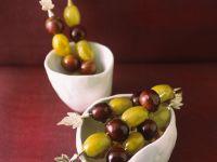 Glasierte Weintrauben Rezept