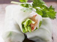 Glücksrollen auf vietnamesische Art Rezept