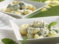 Gnocchi mit cremiger Sauce Rezept
