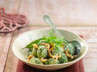 Gnocchi mit Kräutern und Krabben Rezept