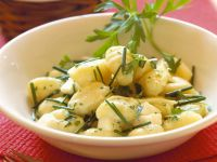 Gnocchi mit Kräutersauce Rezept