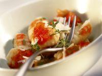 Gnocchi mit Paprikasauce Rezept