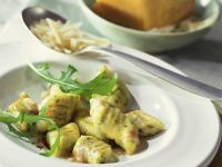 Gnocchi mit Rucola und Pecorino Rezept