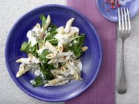 Gorgonzola-Spinat-Pasta Rezept