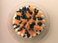 Grapefruit-Heidelbeertorte Rezept