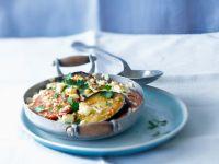 Gratin mit Aubergine und Tomate Rezept