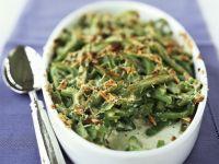 Gratin mit grünen Bohnen Rezept