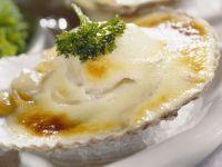 Gratinierte Austern mit Champagnersoße Rezept