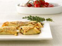 Gratinierte Gemüse-Pfannkuchen Rezept