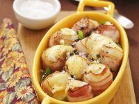Gratinierte Kartoffeln im Speckmantel Rezept
