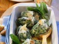 Gratinierte Ricotta-Spinat-Nocken Rezept