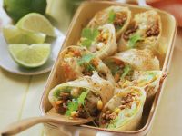 Gratinierte Tortilla-Wraps Rezept