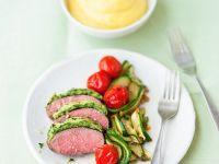 Gratiniertes Lamm mit Zucchinigemüse Rezept