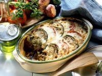 Griechischer Hackfleisch-Auberginen-Auflauf (Moussaka) Rezept