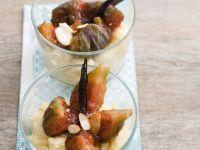 Grieß-Feigen-Dessert