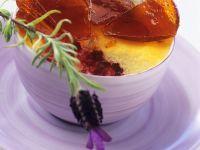 Grieß-Kirschcreme mit Karamell