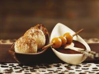 Grießklößchen mit Nougatsauce Rezept