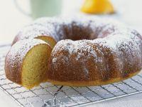 Grießkuchen mit Orange Rezept