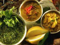Grillsaucen zu Fisch & Garnelen Rezept