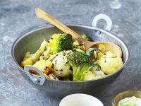 Grün-weißes Curry Rezept