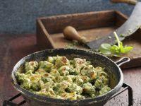 Grüne Gnocchi mit Portulak Rezept