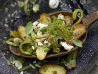 Grüne Kartoffelpfanne Rezept