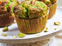 Grüne Pistazienmuffins