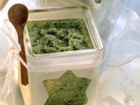 Grüne Soße mit Brokkoli, Kresse und Petersilie Rezept