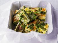 Grüne Spargel-Frittata Rezept