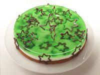 Grüne Weihnachtstorte Rezept