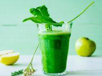 Grüner Apfel-Kräutersmoothie Rezept