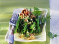 Grüner Bohnensalat mit Anchovis Rezept