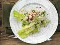 Grüner Gemüse-Reis-Topf Rezept