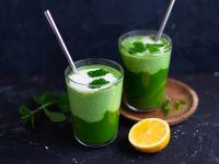 Grüner Smoothie mit Kefir Rezept