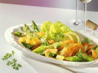 Grüner Spargelsalat mit Räucherlachs Rezept