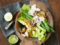Grüner Spargelsalat mit Shiitake Rezept