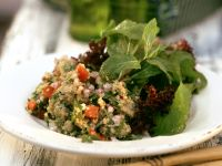 Grünkern-Rucola-Salat Rezept