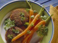 Grünkernpuffer mit Möhren Rezept