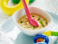 Grünkernschrot-Gemüsesuppe Rezept