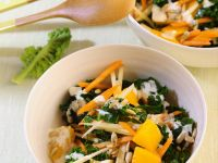 Grünkohlsalat mit Möhren Rezept
