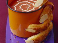 Gruselige Kürbissuppe zu Halloween Rezept