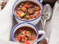 Gulaschsuppe mit Gemüse Rezept