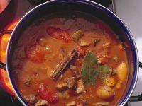 Gulaschsuppe mit Pilzen und Tomaten Rezept