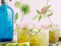 Gurken-Basilikum-Drink Rezept