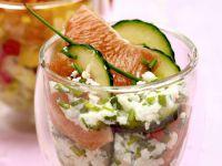 Gurken-Grapefruit-Salat Rezept