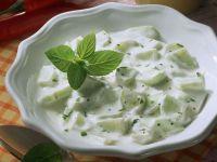 Gurken-Joghurtsauce Rezept