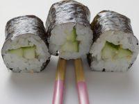 Gurken-Maki-Sushi Rezept